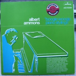 Ammons Albert ‎– Boogie Woogie Piano Stylings|Mercury ‎– 6336 326