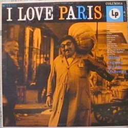 Legrand Michel And His Orchestra  – I Love Paris  Realm Cbs RM 52035