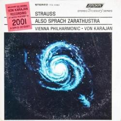 Strauss Richard - H. v. Karajan-Vienna Philharmonic – Also Sprach Zarathustra |1968 STS 15083