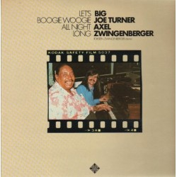Turner Big Joe / Axel Zwingenberger – Let's Boogie Woogie All Night Long |1978 Telefunken 6.23624
