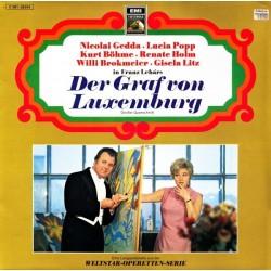 Lehár Franz – Der Graf Von Luxemburg (Großer Querschnitt) |EMI 64333 Club Edition