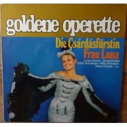 Goldene Operette- Luise Camer....– Die Csardasfürstin/ Frau Luna | Telefunken – 6.21245 AF