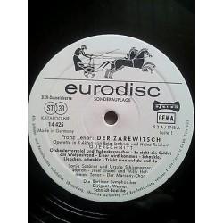 Lehar Franz -Der Zarewitsch -Eurodisc 14425