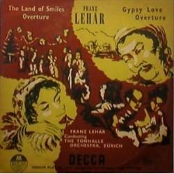 LehárFranz - Gypsy Love - Overture- Land of Smiles|DECCA LW 5071