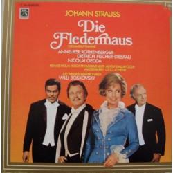 Strauss Johann – Die Fledermaus|1972 EMI – 1C 193-29 300/301-Diff. Cover