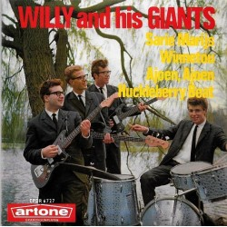 Willy And His Giants ‎– Sarie Marijs|1963     Artone ‎– EPDR 6727