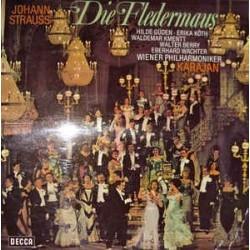 Strauss Jr. Johann-Die Fledermauslh (Querschnitt)-Hilde Güden, Erika Köth--Karajan| Decca – SX 21 186-6.41799