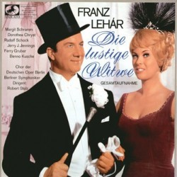 Lehár Franz-Die Lustige Witwe-Rudolf Schock...Berliner Symphoniker-Robert Stolz| Marcato – 75 445