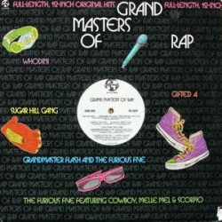 Various – Grand Masters Of Rap 1985 Dominion Music Corporation – NU 9310
