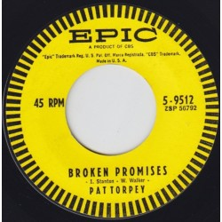 Torpey ‎Pat – Broken Promises/Don't Turn The Corner|1962-Single