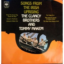 Clancy Brothers The  & Tommy Makem ‎– Songs From The Irish Uprising|1966    epc 6404-Single