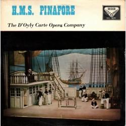 Gilbert And Sullivan-H.M.S. Pinafore-The D'Oyly Carte Opera Company|Decca – SKL 4081