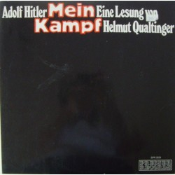 Qualtinger Helmut  – Mein Kampf -Adolf Hitler - Eine Lesung  |1973     Preiser Records – SPR 3224