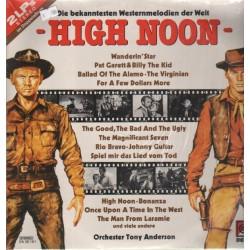 Anderson Tony  Orchester – Die Bekanntesten Westernmelodien - High Noon|Delta Music – DA 20 161