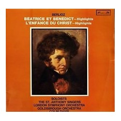 Berlioz -Beatrice et Benedict   Cantelo-Veasey.... SOL 322