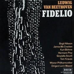 Beethoven-Fidelio- Birgit Nilsson- McCracken-James-Prey -Maazel|Decca HIFI 72304
