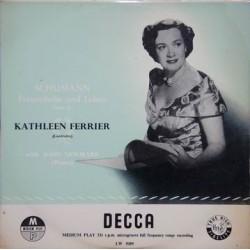 Ferrier Kathleen-Schumann – Frauenliebe und Leben, Op. 42 John Newmark |Decca – LW. 5089  10´´Record