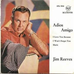 Reeves Jim – Adios Amigo|1962      RCA Victor – EPA 9124