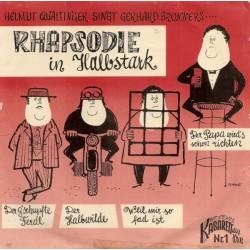 Qualtinger Helmut singt Gerhard Bronner – Rhapsodie In Halbstark 1960 Kabarett Aus Wien – KW 1-Single-EP