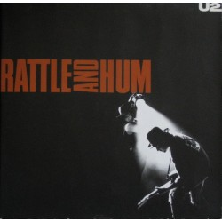 U2 ‎– Rattle And Hum|1988 Island Records ‎–91003-1
