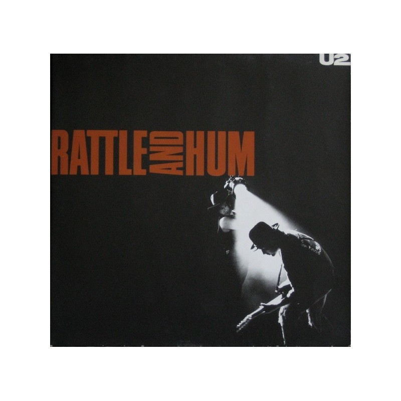 U2 ‎– Rattle And Hum|1988 Island Records ‎– 303 400