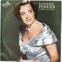Ferrier ‎Kathleen – A Song Recital Record 5|1968    Ace Of Clubs ‎– ACL 309