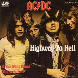 AC/DC – Highway To Hell 1979      Atlantic – ATL 11 321-Single