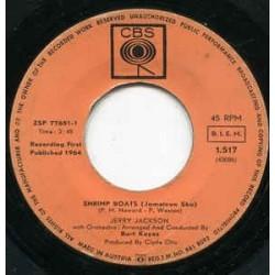 Jackson Jerry – Shrimp Boats / Always 1964 CBS – 1.517-Single