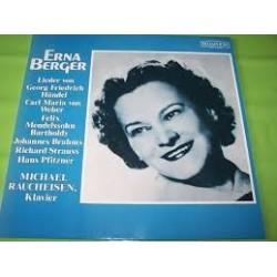 Berger Erna - Lieder- Händel- Weber- Brahms Strauss - Bellaphon 630 01 001