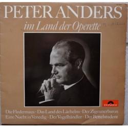 Anders Peter – im Land der Operette|1965 Polydor – 46 664