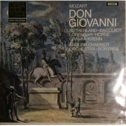 Mozart Wolfgang Amadeus ‎– Dom Giovanni|Decca ‎– 6.41869AN