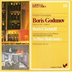Mussorgskij Modest – Boris Godunov  -Boris Christoff-Arthur Rodzinsky  |1980   Longanesi Periodici – GML - 10