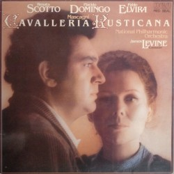 Mascagni– Cavalleria Rusticana - Renata Scotto-Placido Domingo-James Levine |1979 RCA Red Seal – RL 13091