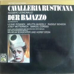 Mascagni/Leoncavallo– Cavalleria Rusticana / Der Bajazzo (Querschnitte)| EMI Electrola – 1 C 063-28 999