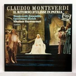 Monteverdi- Il Ritorno d'Ulisse in Patria-Nikolaus Harnoncourt |Telefunken 6.35592-3 LP Box