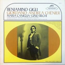 Giordano Umberto– Andrea Chénier-Beniamino Gigli - Giuseppe Taddei - Oliviero De Fabritiis |Seraphim – IB-6019