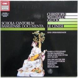 Gluck Christoph Willibald – Le Cinesi - Anne Sofie Von Otter |1986    Deutsche Harmonia Mundi 065 EL 16 9575 1