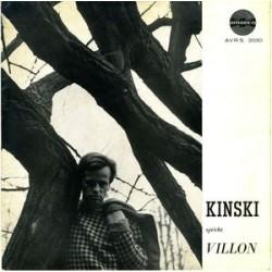 Kinski Klaus – Kinski Spricht Villon|1959  Amadeo – AVRS 2030