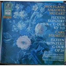 Mozart Wolfgang Amadeus-Flötenkonzert in G-Dur Op. 29 – Flötenkonzert in Nr. 1 G-Dur KV 313 -Carl Stamitz |EMI – SMC 91 468