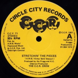 C.C.R. Crew The – stretchin' the pieces|1987     Circle City Records – C.C.Y. T1-Maxi-SIngle
