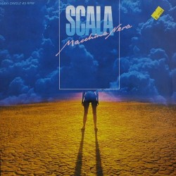 Scala  ‎– Macchina Nera|1985     Epic ‎– EPCA 12.6220-Maxi-Single