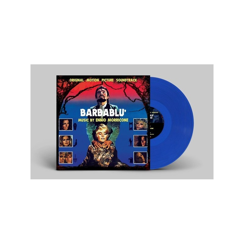 Morricone Ennio – Barbablu'-Soundtrack|2017   Rustblade – RBLLP018-Blue Vinyl