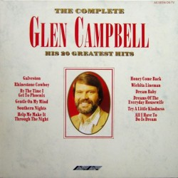 Campbell Glen ‎– The Complete Glen Campbell &8211 His 20 Greatest Hits|1989 Stylus Music ‎– SMR 979