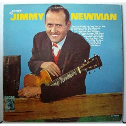 Newman Jimmy ‎– Songs By|1962     MGM Records ‎– E-4045