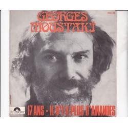 Moustaki Georges – 17 Ans / Il N'y A Plus D'amandes Polydor – 2056 144-Single