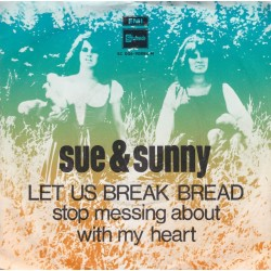 Sue & Sunny ‎– Let us break bread together / Stop messing around with my Heart|1969 5C 006-90884 M-Single