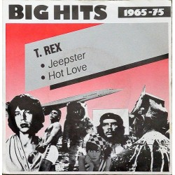 T. Rex ‎– Jeepster / Hot Love|Cube Records ‎– 6.14939-Single