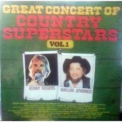Various ‎– Great Concert Of Country Superstars Vol. 1|Masters ‎– MA 010186/1