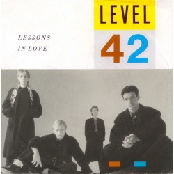 Level 42 ‎– Lessons In Love|1986 Polydor ‎– 883 956-7-Single