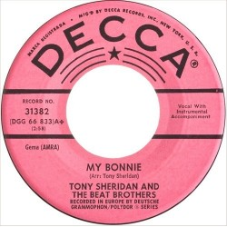 Sheridan Tony and the Beat Brothers ‎– My Bonnie|1962
